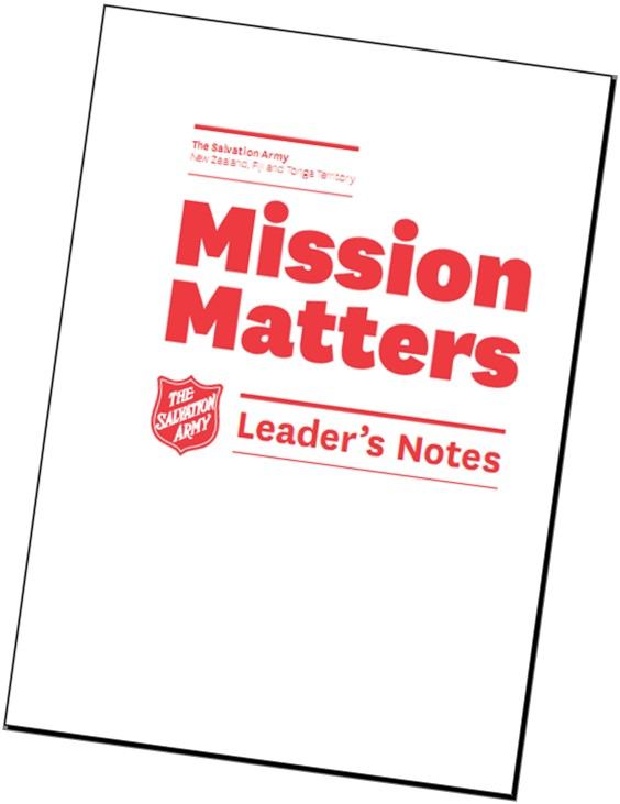 mission matters leaders