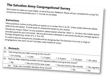 Congregational Survey